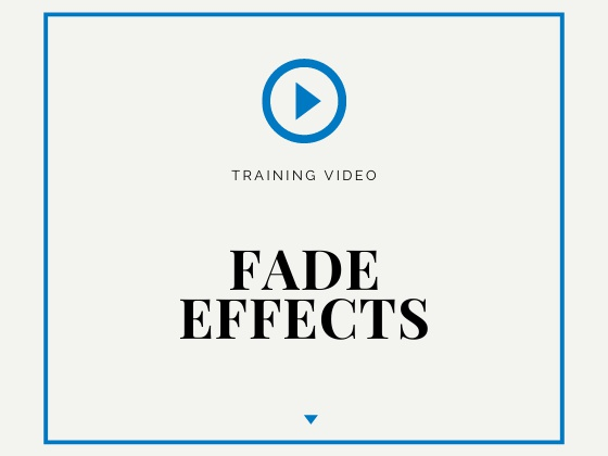 Fade Effects - DEXON Training Videos