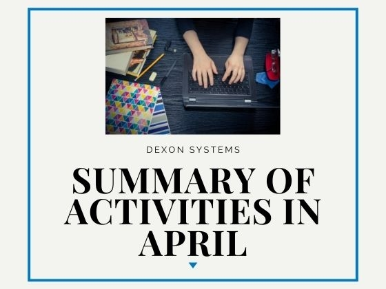 Recent Activities - April