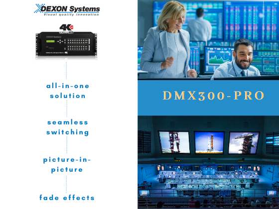 We brought you the fantastic DMX300-Pro 4K60, 4:4:4 Product video!
