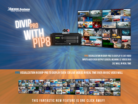 Request your DIVIP-PRO models with PIP8 now!