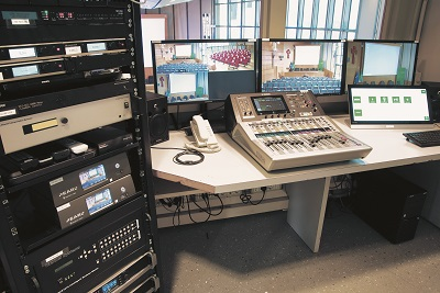 Control Room for conference center