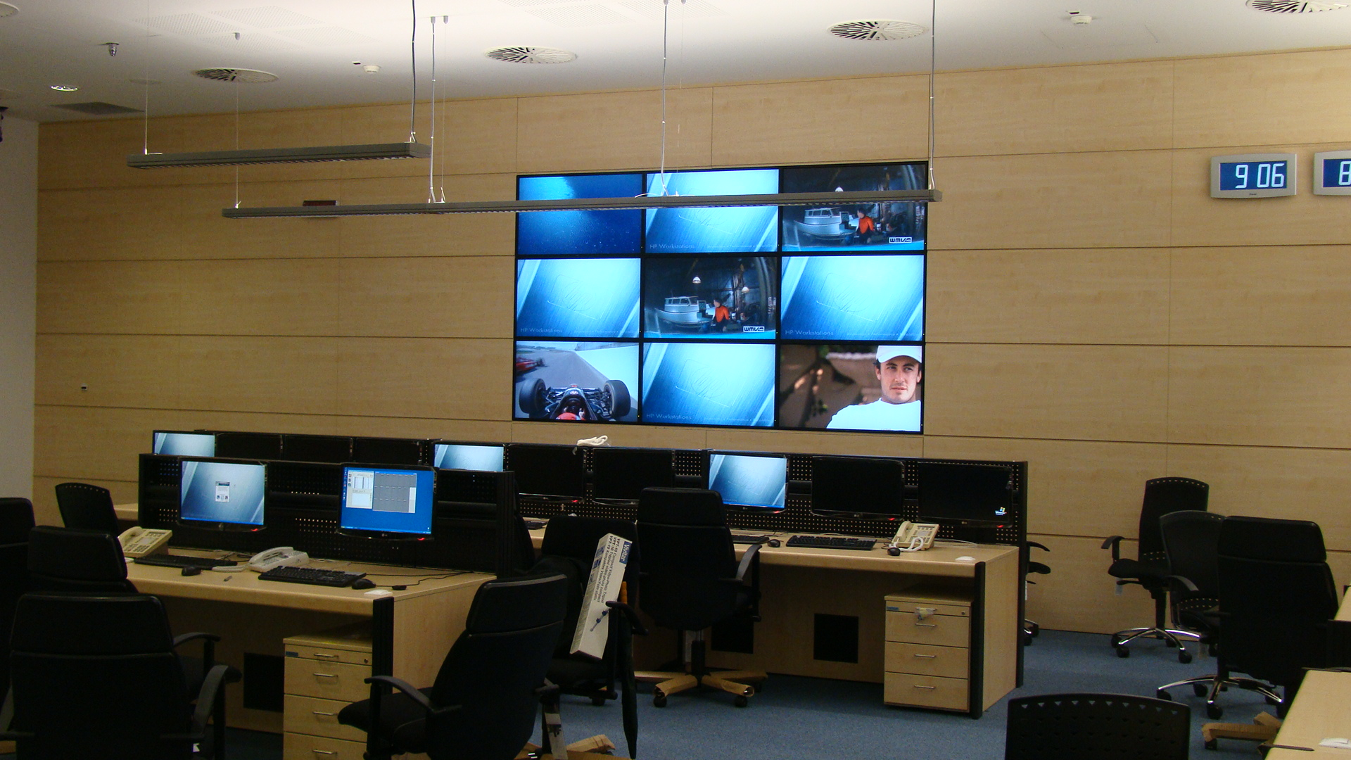 Ferihegy Video Wall
